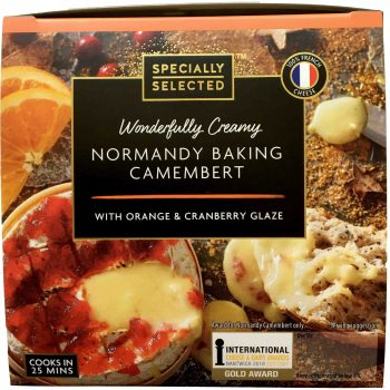 Normandy Baking Camembert with Orange & Cranberry Cropped