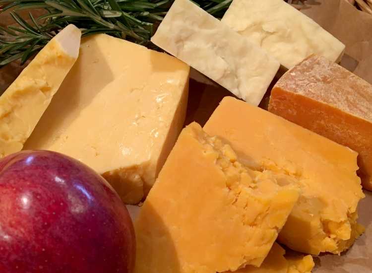 Territorial Cheddars, Red Leicesters and Double Gloucester