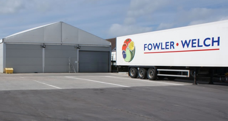 Fowler Welch truck in Tom Walker and Sons yard